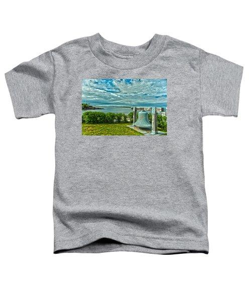 Biddeford Pool Bell Toddler T-Shirt