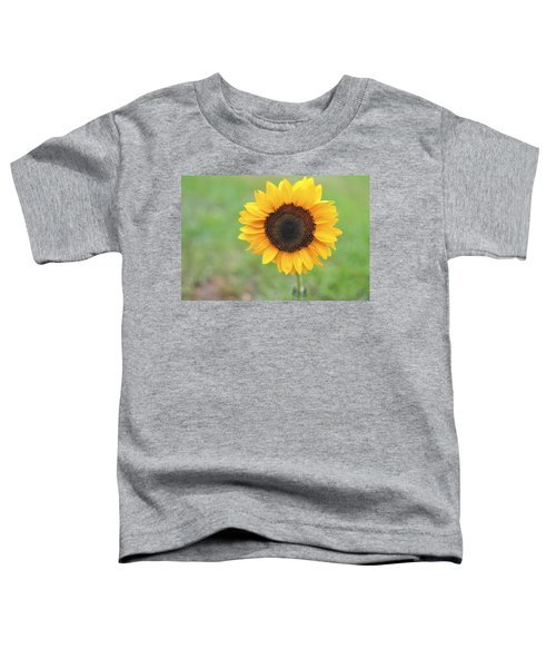 Big Bright Yellow Colorful Sunflower Art Print Toddler T-Shirt