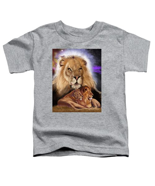 Third In The Big Cat Series - Lion Toddler T-Shirt