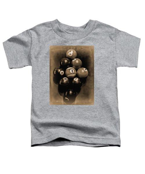 Billiards Art - Your Break - Bw Opal Toddler T-Shirt
