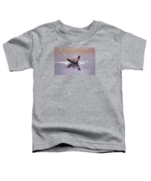 Bird Bath Toddler T-Shirt