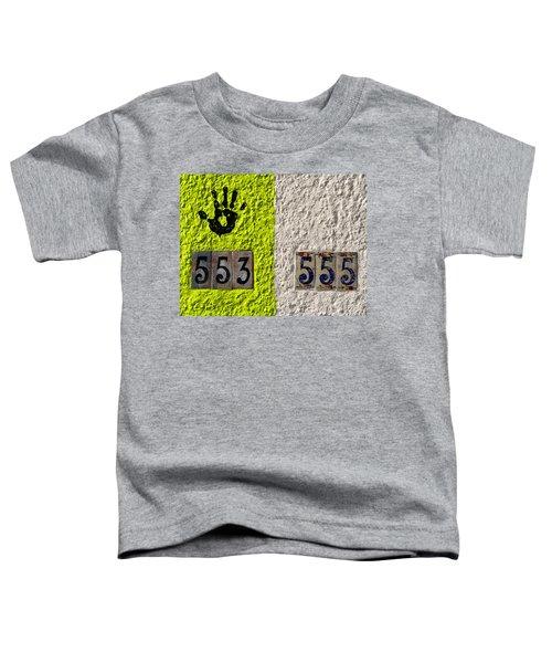 Black Hand Toddler T-Shirt
