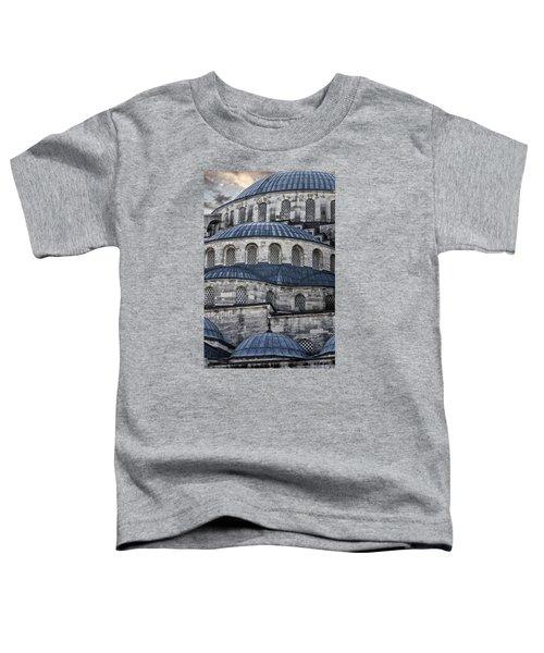 Blue Dawn Blue Mosque Toddler T-Shirt