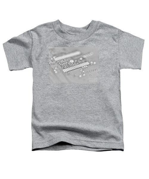 Blue Hard Drive High Key Toddler T-Shirt