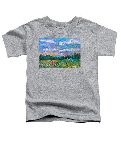 Blue Ridge Wildflowers Toddler T-Shirt