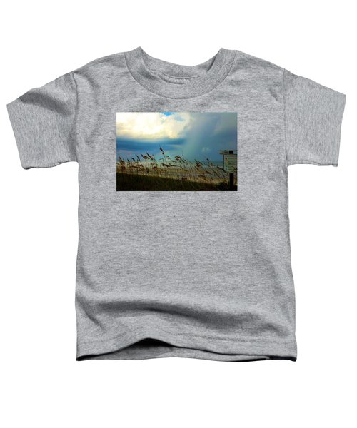 Blue Sky Above Toddler T-Shirt