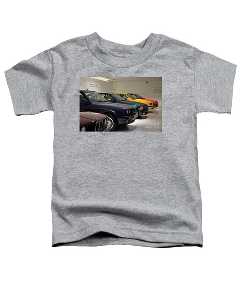 Bmw Cars Through The Years Munich Germany Toddler T-Shirt