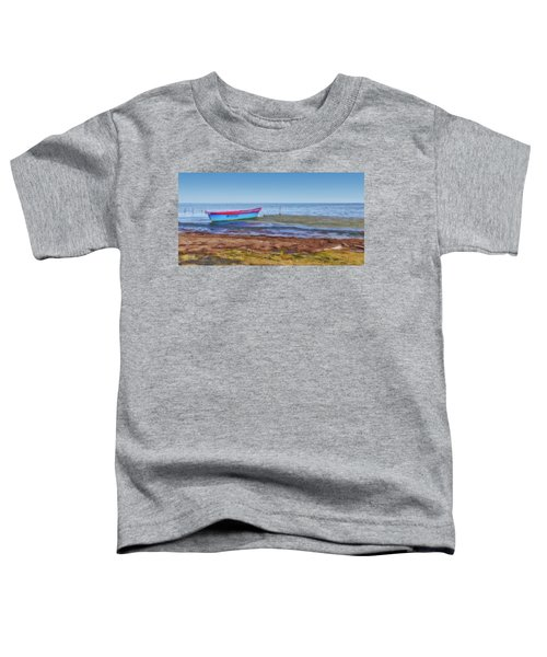 Boat At The Pond Toddler T-Shirt