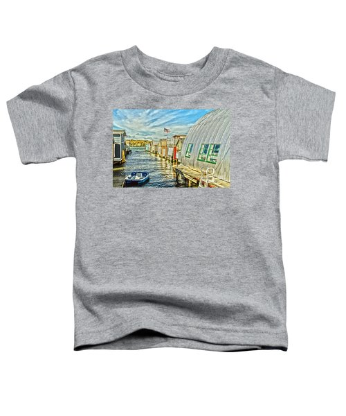 Boathouse Alley Toddler T-Shirt