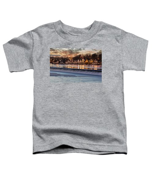 Boathouse Row Philadelphia Pa Toddler T-Shirt