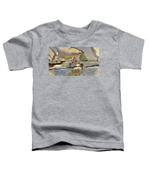 Boats On The Shore Toddler T-Shirt