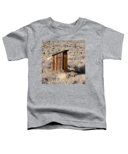Bodie Outhouse Toddler T-Shirt