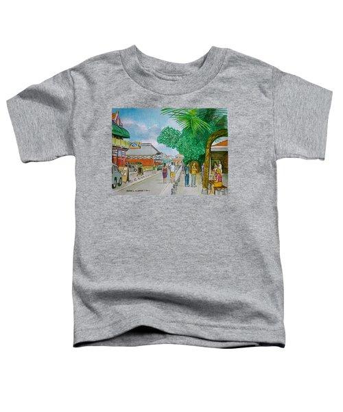 Bonaire Street Toddler T-Shirt
