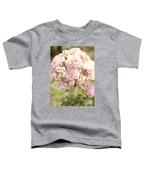 Bouquet Of Vintage Roses Toddler T-Shirt