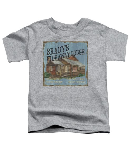 Brady's Hideaway Toddler T-Shirt