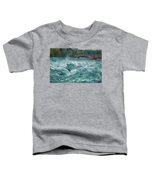 Bridge To Goat Island Toddler T-Shirt