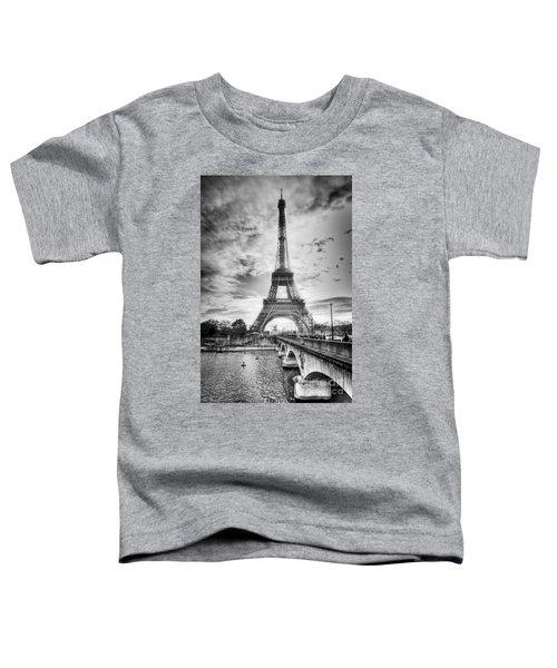 Bridge To The Eiffel Tower Toddler T-Shirt