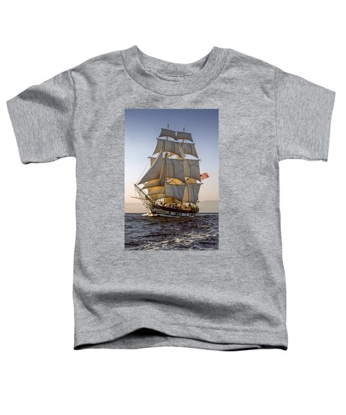 Brig Pilgrim Off Santa Barbara Toddler T-Shirt