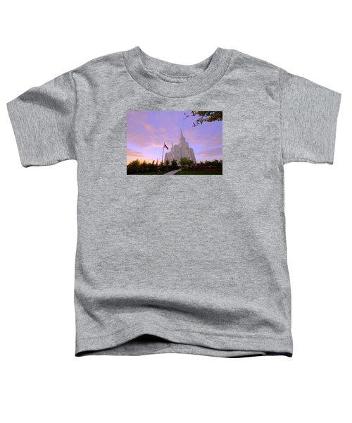 Brigham City Temple I Toddler T-Shirt
