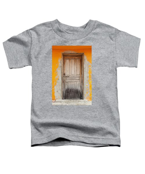 Brightly Colored Door And Wall Toddler T-Shirt