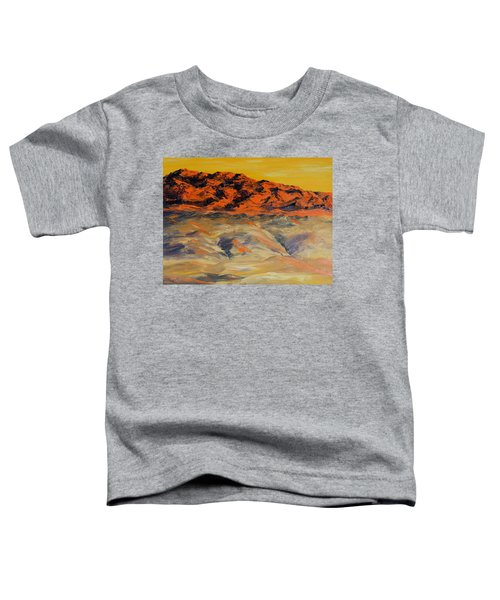 Brilliant Montana Mountains And Foothills Toddler T-Shirt