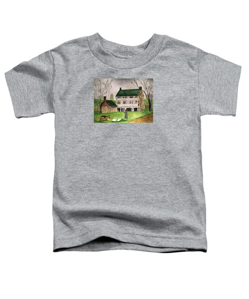 Bringing Home The Ducks Toddler T-Shirt