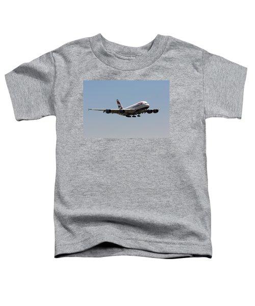 British Airways A380 Toddler T-Shirt