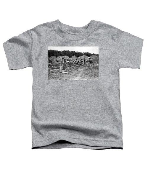 British Construction Scene Toddler T-Shirt