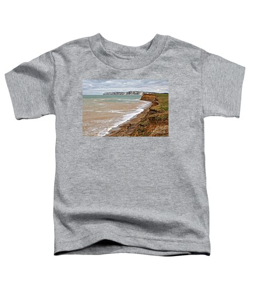 Brook Bay And Chalk Cliffs Toddler T-Shirt
