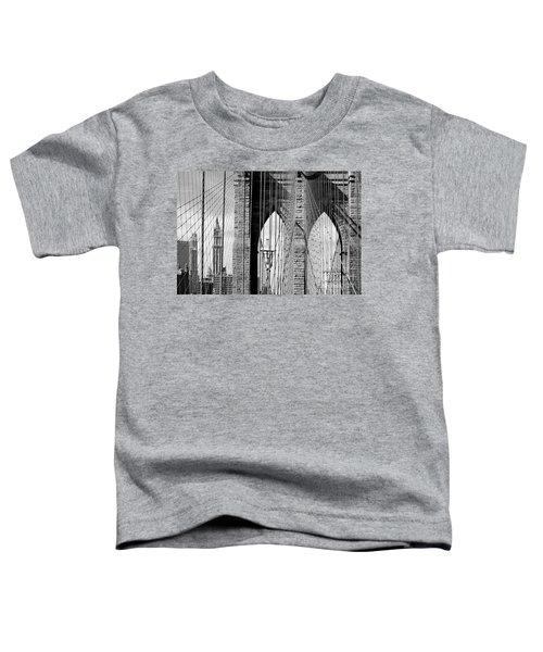 Brooklyn Bridge New York City Usa Toddler T-Shirt
