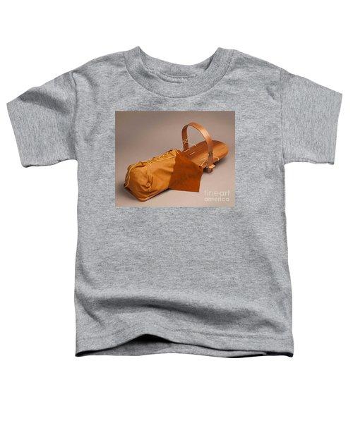 Buckskin Cradleboard Toddler T-Shirt
