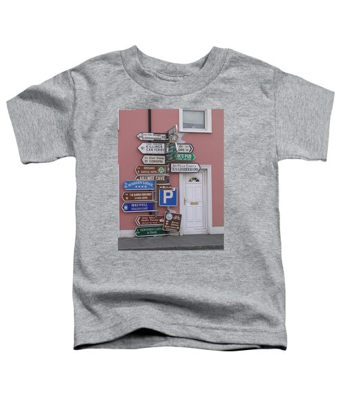 Buren Signs Toddler T-Shirt