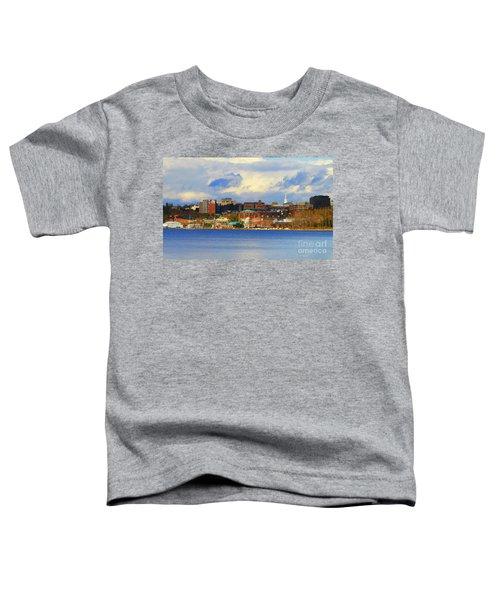 Burlington Vermont Lakefront Toddler T-Shirt