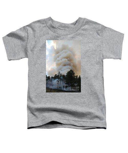 Burnout Near Song Dog Road Toddler T-Shirt