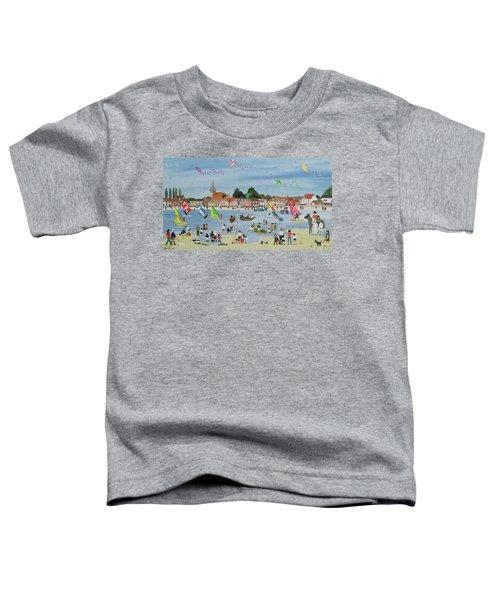 Busy Beach Toddler T-Shirt