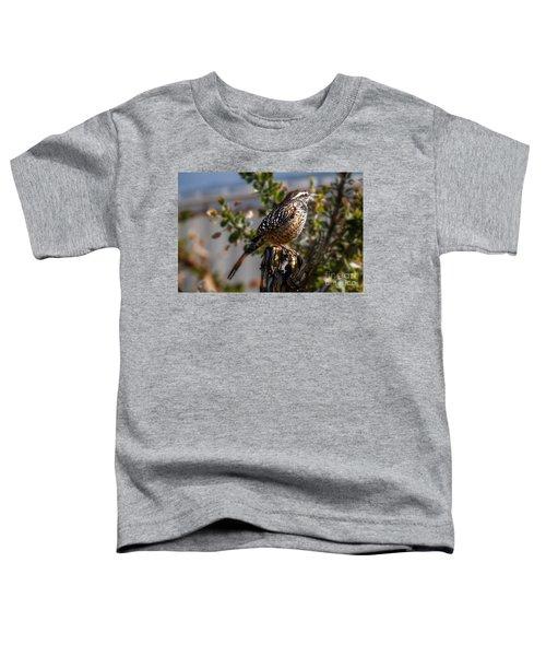 Cactus Wren Toddler T-Shirt
