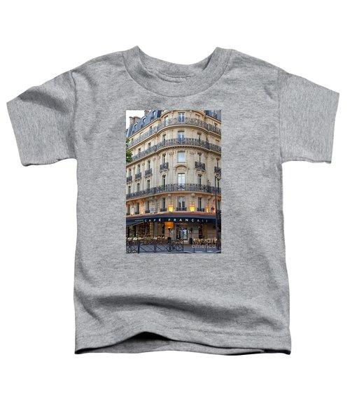 Cafe Francais Toddler T-Shirt