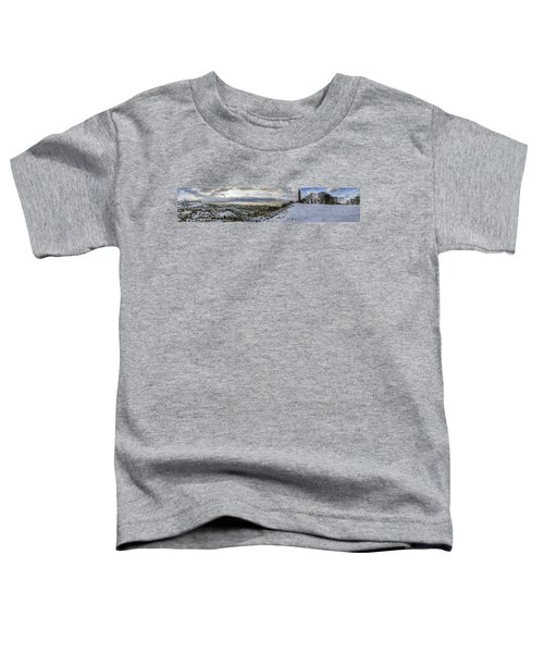 Calton Hill Panorama Toddler T-Shirt