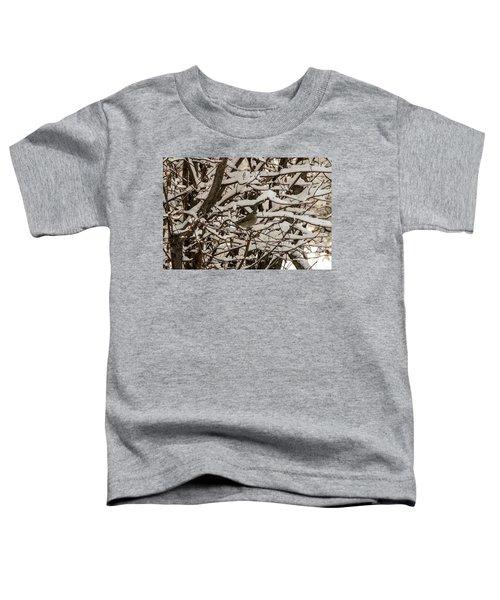 Camouflaged Thrush Toddler T-Shirt