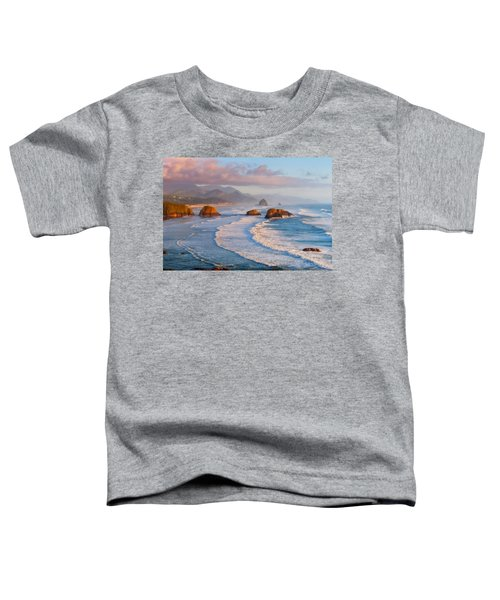 Cannon Beach Sunset Toddler T-Shirt