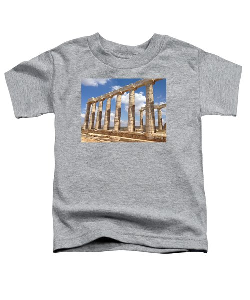 Cape Sounion Toddler T-Shirt