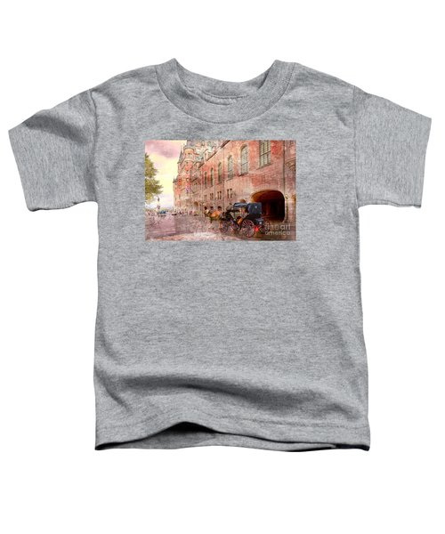 Carriage Ride In Canada 07 Toddler T-Shirt