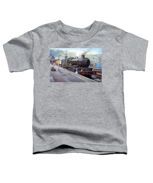 Castle At Kingswear 1957 Toddler T-Shirt
