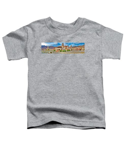 Castle In A Desert, Scottys Castle Toddler T-Shirt by Panoramic Images