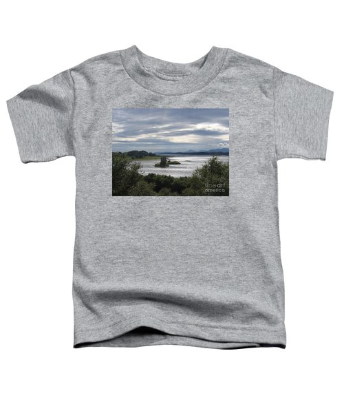Castle Stalker On Loch Laiche Toddler T-Shirt