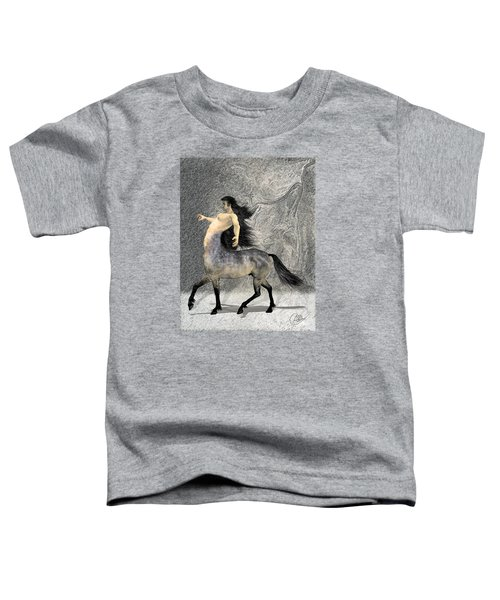 Centaur Toddler T-Shirt by Quim Abella