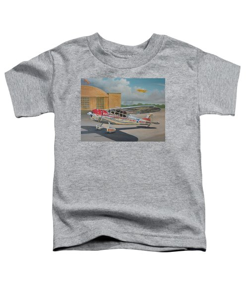 Cessna 195 Toddler T-Shirt