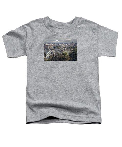 Chain Bridge Gresham Palace And Basilica Toddler T-Shirt