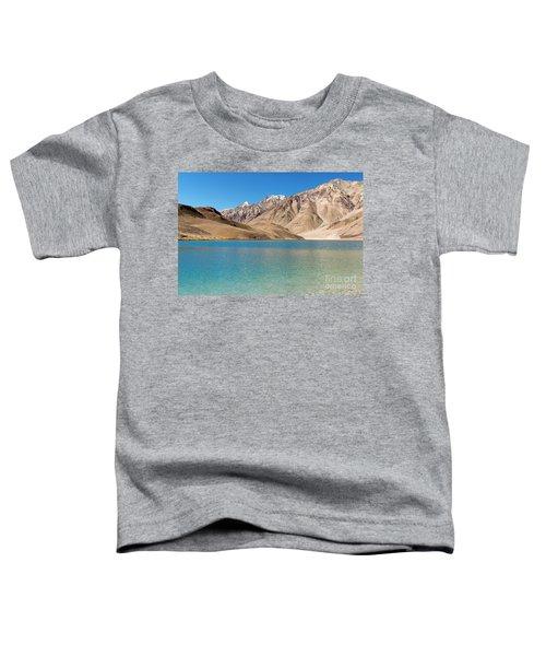 Chandratal Lake Toddler T-Shirt