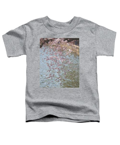 Cherry Blossoms P2 Toddler T-Shirt